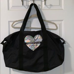 Victoria's Secret Fashion Show Large Tote Bag